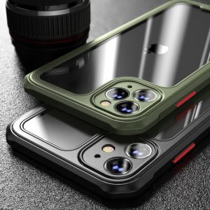 Premium Transparent Case For iPhone 12, 11 Pro Max Shockproof
