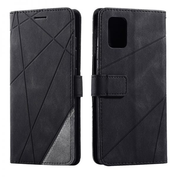 Leather Wallet Flip Case For Samsung Galaxy