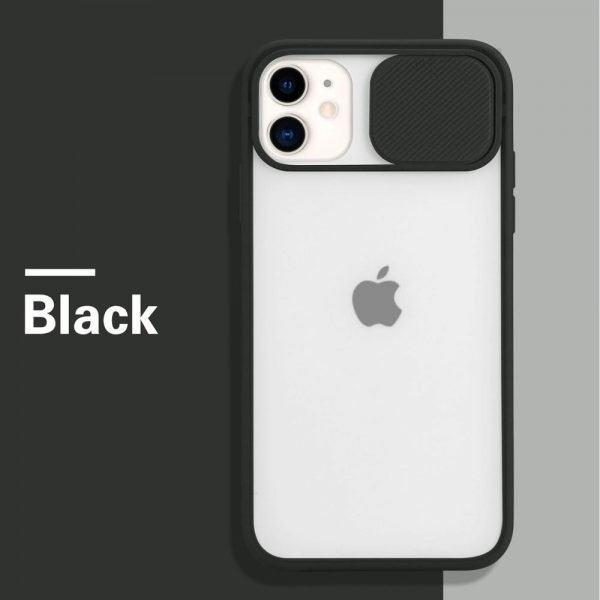 Shockproof Silicone Protection Phone Case on For iPhone (Black)
