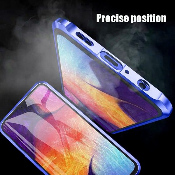 Magnetic Case For Samsung Double Glass