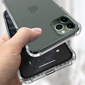 Transparent Shockproof Soft Silicone Case for iPhone 6 - 12 + SE